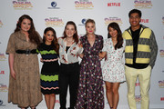 "(L-R) Lauren Ash, Aimee Carrero, Noelle Stevenson, AJ Michalka, Karen Fukuhara and Marcus Scribner attend the DreamWorks ""She-Ra and the Princesses of Power"" Fan Screening at DreamWorks Animation on April 25, 2019 in Glendale, California."