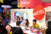 (L-R) Noelle Stevenson, Merit Leighton, Lauren Ash, Aimee Carrero and Marcus Scribner meet fans at DreamWorks She-Ra and the Princesses of Power at San Diego Comic-Con 2019 at San Diego Convention Center on July 19, 2019 in San Diego, California.