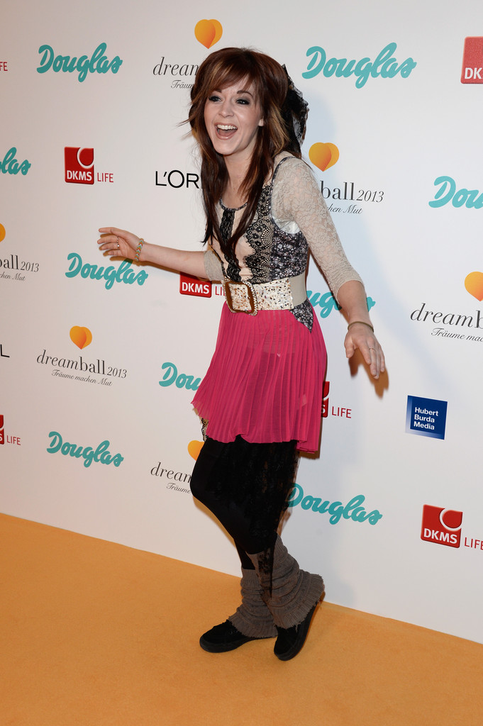 Lindsey Stirling in Arrivals at the 2013 Dreamball - Zimbio