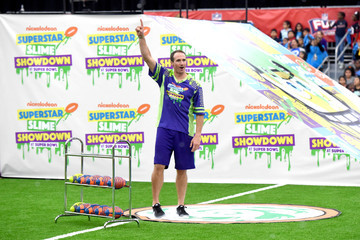 Drew Brees Nickelodeon's Superstar Slime Showdown at Super Bowl
