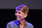 Jack McBrayer speaks onstage during the 'Drunk History' Live Reading Event at The Montalban on August 15, 2019 in Hollywood, California.