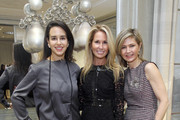 Haley Binn, Jennifer Gerstel Ringelstein, Advisory Board for Evolve Together and Rebecca Bond, co-founder Evolve Together attend DIOR and DuJour fete the holidays with a preview of the Cruise 2015 collection on December 17, 2014 in New York City.