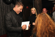Life Coach Tony Robbins and Sage Robbins attend DuJour Magazine's Jason Binn and Invicta Watches in the welcoming of Tony Robbins to New York at Catch NYC on November 17, 2014 in New York City.