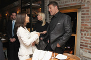 (L-R) Marie Ryan, Sage Robbins and Life Coach Tony Robbins attend DuJour Magazine's Jason Binn and Invicta Watches in the welcoming of Tony Robbins to New York at Catch NYC on November 17, 2014 in New York City.