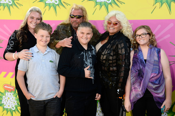 Nickelodeon's 26th Annual Kids' Choice Awards - Arrivals [people,social group,yellow,event,community,fun,party,photography,team,plant,arrivals,duane dog chapman,family,kids choice awards,c,california,los angeles,usc galen center,nickelodeon]