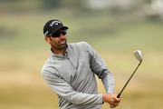 Alvaro Quiros of Spain plays his second shot on the 10th hole during day one of the Dubai Duty Free Irish Open at Ballyliffin Golf Club on July 5, 2018 in Donegal, Ireland.
