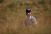Alvaro Quiros of Spain looks on from the rough ahead of the Dubai Duty Free Irish Open at Ballyliffin Golf Club on July 3, 2018 in Ballyliffin, Ireland.