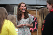 Catherine, Duchess of Cambridge joins a photography workshop for Action for Children, run by the Royal Photographic Society at Warren Park on June 25, 2019 in Kingston, England.