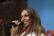 Alexandra Burke performing at the live broadcast of the final of BBC Radio 2's 500 Words creative writing competition at Hampton Court Palace on June 8, 2018 in London, England.