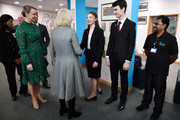 The Duchess Of Cornwall Carries Out Engagements In The West Midlands