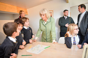 The Duchess Of Cornwall Visits Bath