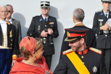 Duchess Maria Teresa of Luxembourg The Wedding Of Prince Guillaume Of Luxembourg & Stephanie de Lannoy - Official Ceremony