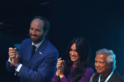 Meghan, Duchess of Sussex attends the One Young World Summit Opening Ceremony at Royal Albert Hall on October 22, 2019 in London, England. The Duchess is Vice-President of The Queen's Commonwealth Trust, which is partnering with One Young World this year.
