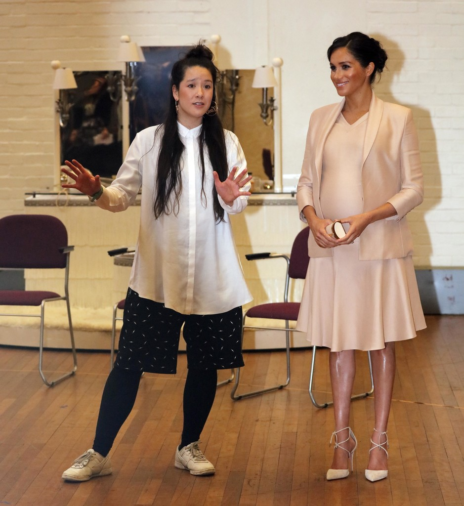 The Duchess Of Sussex Visits