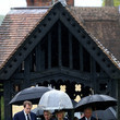 Duchess of Cornwal Funeral Held for Mark Shand in Dorset