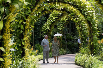 Duchess of Cornwal The Prince Of Wales & Duchess Of Cornwall Visit Singapore, Malaysia, Brunei And India - Day 3