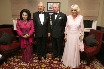 Duchess of Cornwal The Prince of Wales & Duchess of Cornwall Visit Singapore, Malaysia, Brunei and India - Day 5