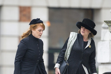 Duchess of York Ceremonial Funeral Service for Margaret Thatcher 23