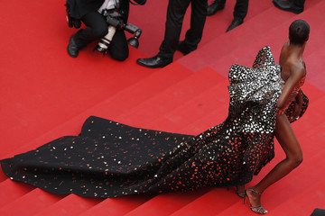 Duckie Thot 'Once Upon A Time In Hollywood' Red Carpet - The 72nd Annual Cannes Film Festival