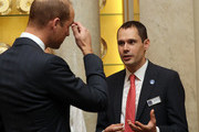 The Duke Of Cambridge Hosts A Reception For British Divers Involved In The Tham Luang Cave Rescue
