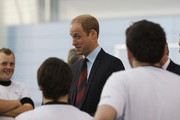 The Duke of Cambridge Meets the Women's Team Ahead of FIFA Women's World Cup 2015