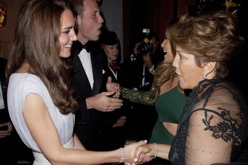 Guadalupe Lopez The Duke and Duchess of Cambridge Attend BAFTA Brits To Watch Event