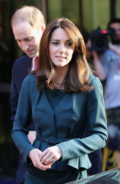 The Duke and Duchess of Cambridge Attend The ICAP Charity Day