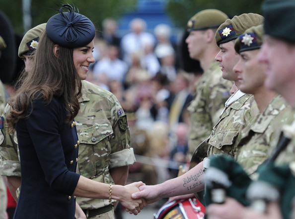Kate Middleton Dazzles At First Military Event as Duchess ...