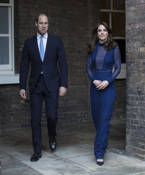 The Duke and Duchess of Cambridge Attend a Reception at Kensington Palace Ahead of Their Tour to India & Bhutan
