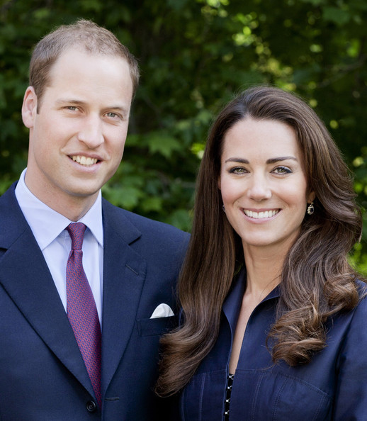 The Duke And Duchess of Cambridge - Official Tour Portrait - 1 of 4