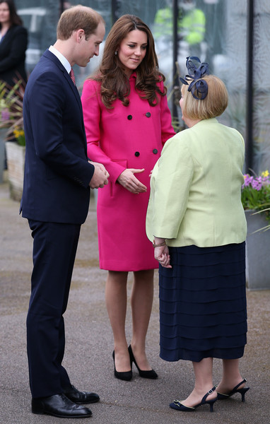 Prince William, Duke of Cambridge and Catherine, Duchess of Cambridge arrive at the  Stephen Lawrence Centre on March 27, 2015 in London, England.