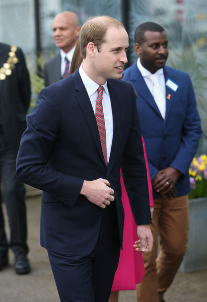 Prince William, Duke of Cambridge arrives at the Stephen Lawrence Centre on March 27, 2015 in London, England.