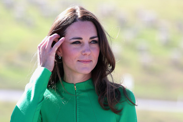 Catherine, Duchess of Cambridge visits the National Arboretum on April 24, 2014 in Canberra, Australia. The Duke and Duchess of Cambridge are on a three-week tour of Australia and New Zealand, the first official trip overseas with their son, Prince George of Cambridge.