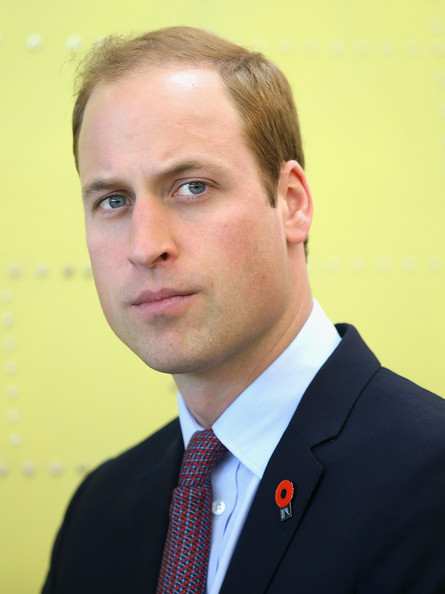 Prince William, Duke of Cambridge visits Pacific Aerospace on April 12, 2014 in Hamilton, New Zealand. The Duke and Duchess of Cambridge are on a three-week tour of Australia and New Zealand, the first official trip overseas with their son, Prince George of Cambridge.