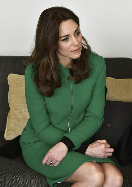 The Duke and Duchess of Cambridge Visit Organisations Working To Prevent Suicide