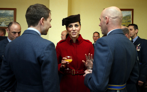 The Duke And Duchess Of Cambridge Visit RAF Valley