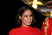 Meghan, Duchess of Sussex arrives to attend the Mountbatten Music Festival at Royal Albert Hall on March 7, 2020 in London, England.