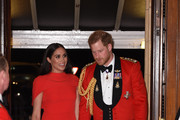 Prince Harry, Duke of Sussex and Meghan, Duchess of Sussex arrive at the Royal Albert Hall on March 7, 2020 in London, England.