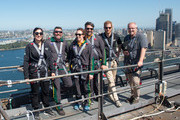 Prince Harry, Duke of Sussex climbs the Sydney Harbour Bridge with Prime Minister of Australia Scott Morrison and Invictus Games competitors on October 19, 2018 in Sydney, Australia. The Duke and Duchess of Sussex are on their official 16-day Autumn tour visiting cities in Australia, Fiji, Tonga and New Zealand.