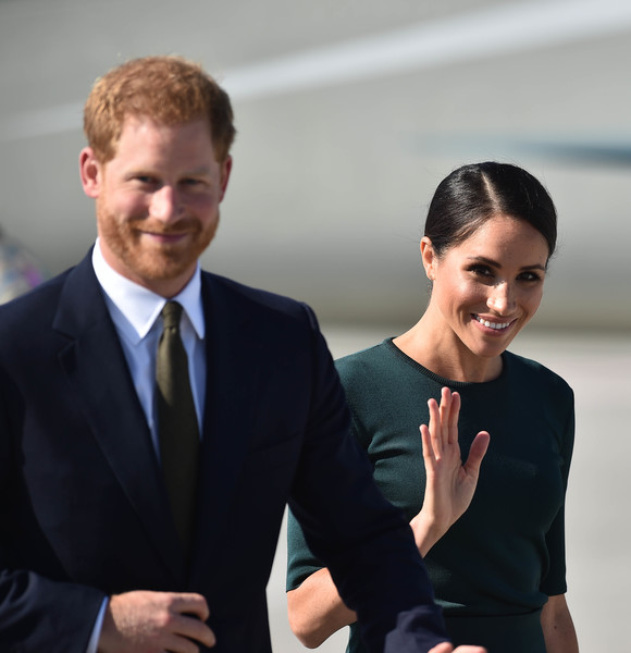 The Duke And Duchess Of Sussex Visit Ireland - 1 of 364