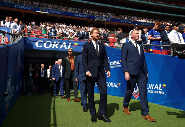 The Duke Of Sussex Attends The Rugby League Challenge Cup Final - 2 of 6