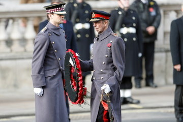 Duke of Kent National Service Of Remembrance At The Cenotaph