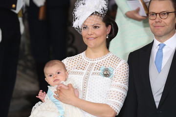 Duke of Vastergotland Christening of Prince Oscar of Sweden