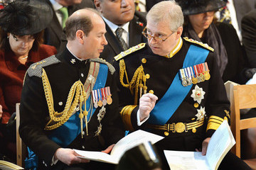 Duke of York Earl Of Wessex A Service of Commemoration for Troops in Afghanistan — Part 2