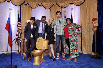 Dulce Sloan Comedy Central's The Daily Show Presents: The Donald J. Trump Presidential Twitter Library In Miami