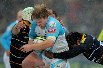 Duncan Jones Worcester Warriors v Ospreys - LV= Cup