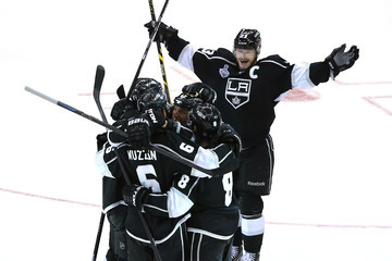 Dustin Brown Marian Gaborik 2014 NHL Stanley Cup Final - Game Two