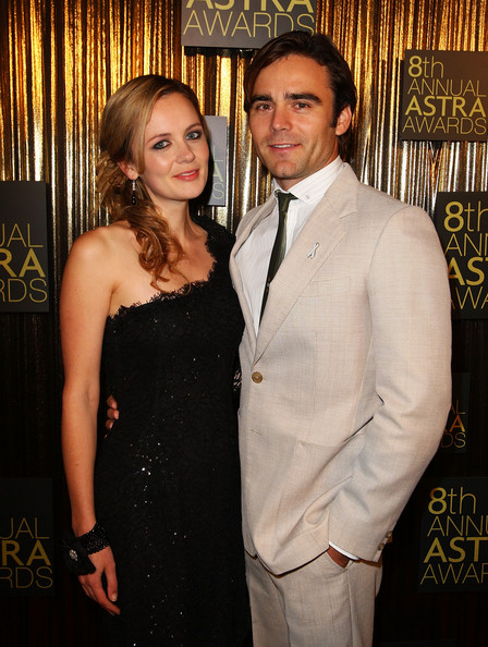 8th Annual ASTRA Awards [suit,formal wear,event,tuxedo,fashion,dress,smile,actors,camille keenan,dustin clare,astra awards,awards,achievements,australia,state theatre,sydney,l]
