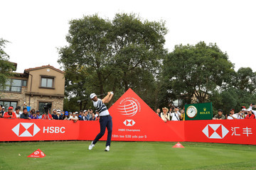 Dustin Johnson WGC - HSBC Champions - Day One