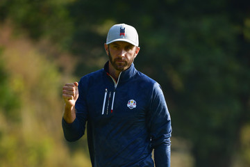 Dustin Johnson 2018 Ryder Cup - Afternoon Foursome Matches